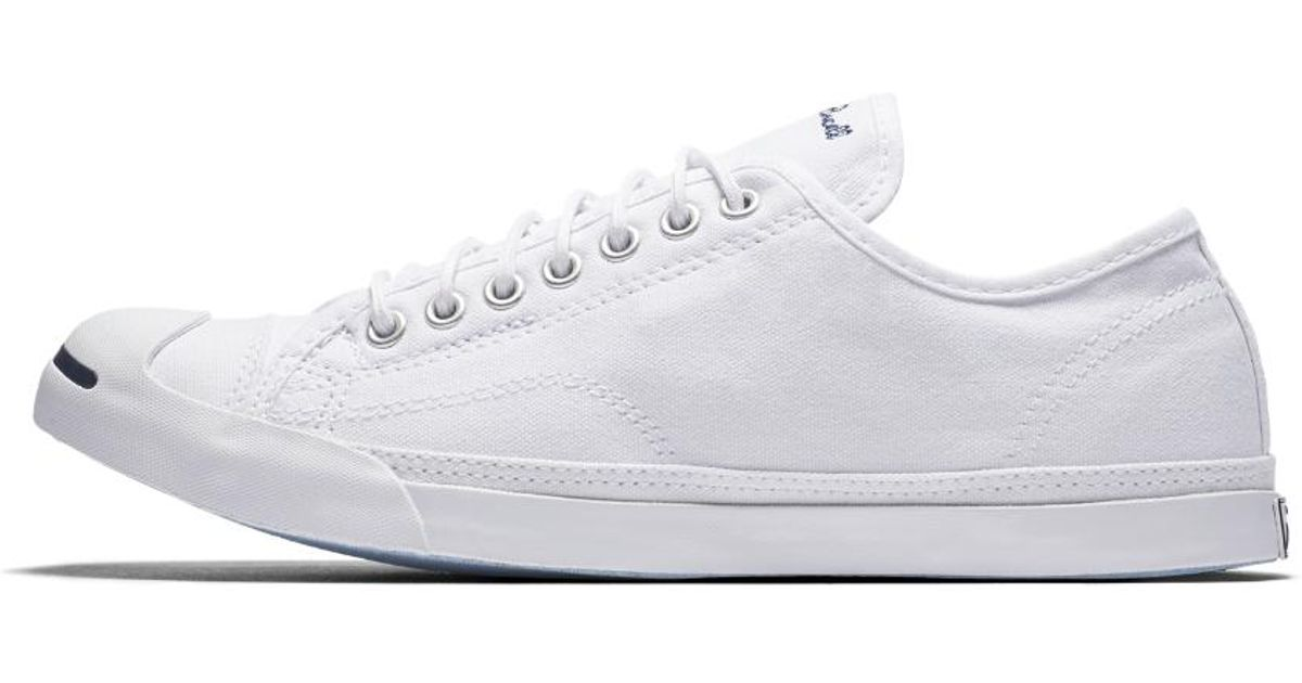 4d54ee65452187 Lyst - Converse Jack Purcell Low Profile Slip-on Shoe in White for Men