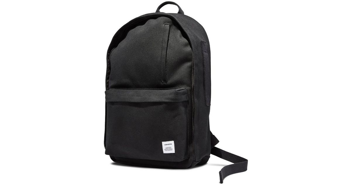 73a376f7a6e235 Converse All Star Essentials Backpack in Black for Men - Lyst