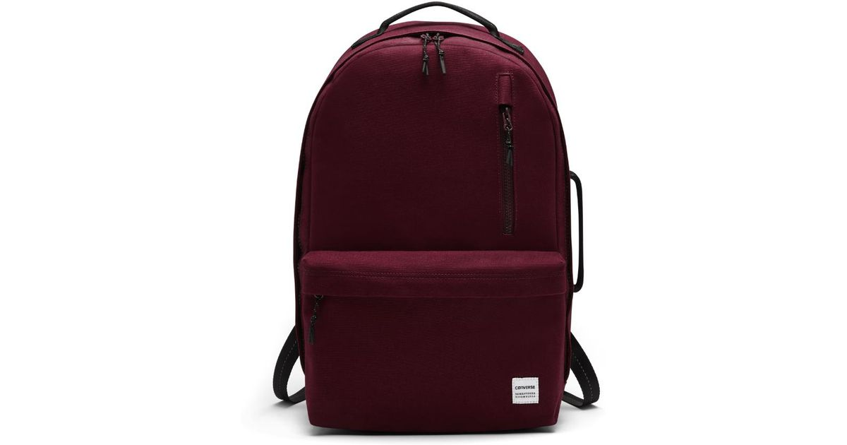 5f19ea6793e1 Lyst - Converse Essentials Backpack (red) in Red for Men