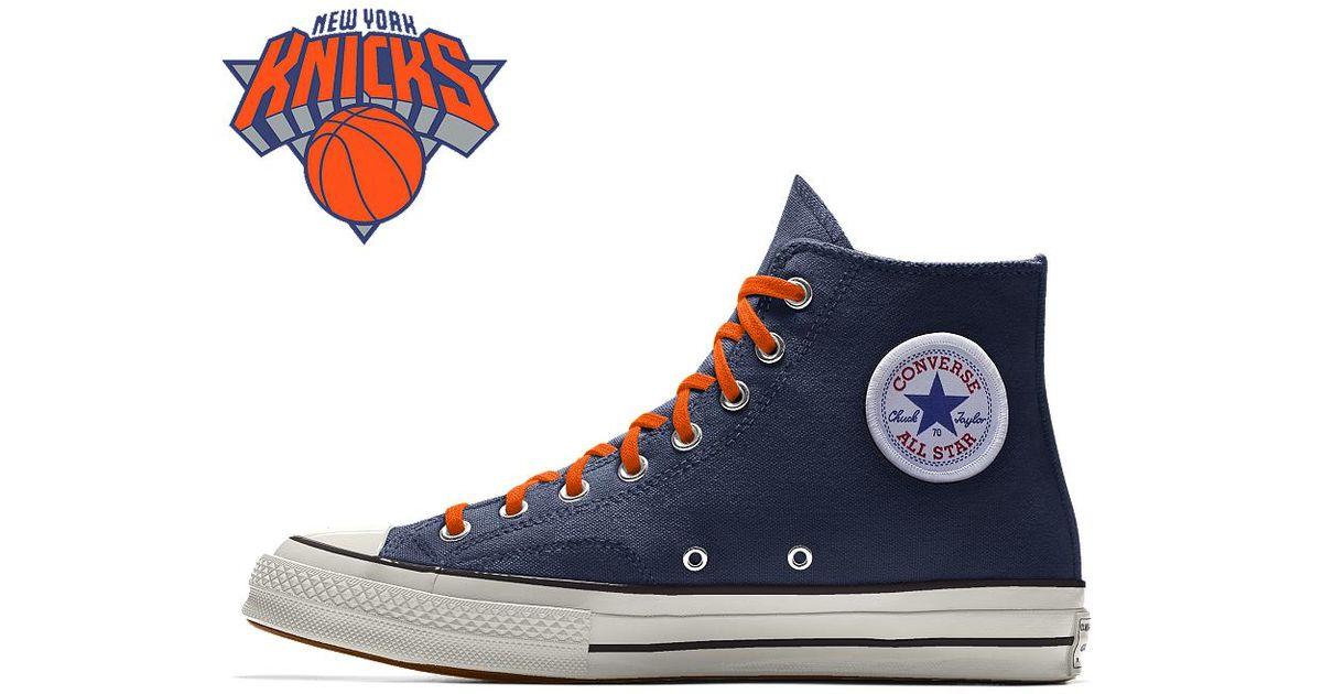 cb5da046f4a Lyst - Converse Custom Chuck 70 Nba High Top Shoe in Blue for Men