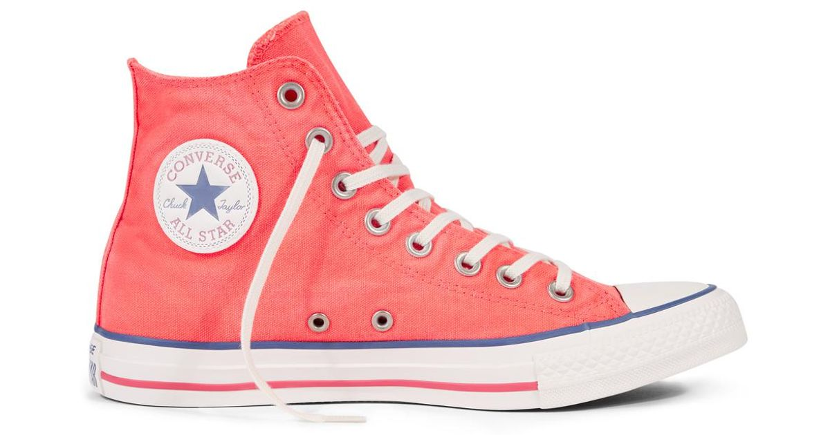 599c43c35361 Converse Chuck Taylor All Star Sun Bleach in Pink for Men - Lyst