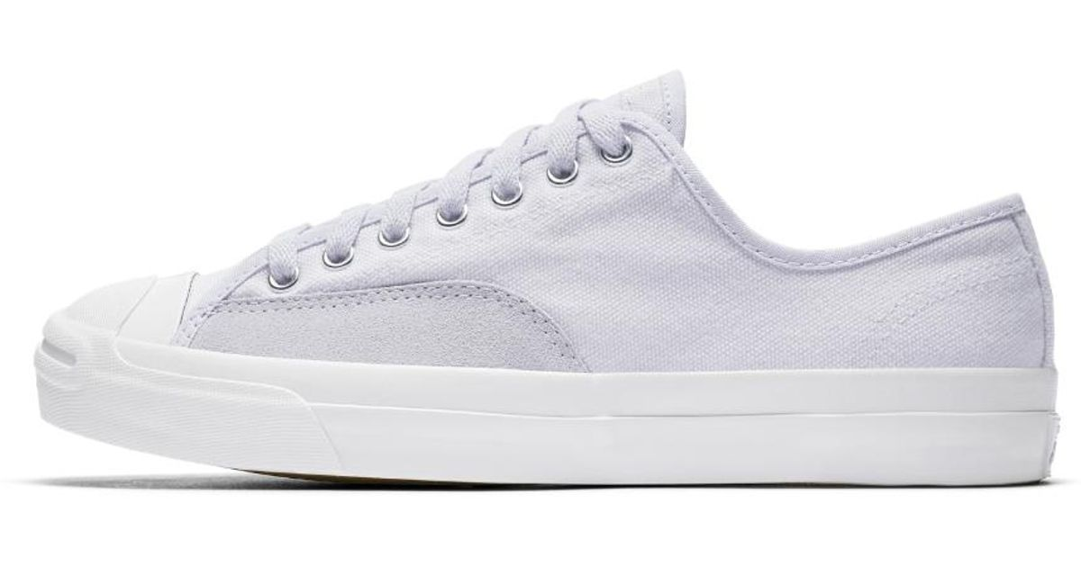 ffee40b89707 Lyst - Converse Jack Purcell Pro Low Top Men s Skateboarding Shoe in White  for Men