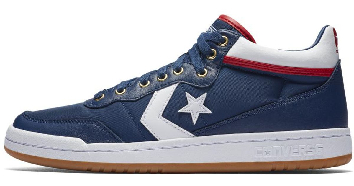 Lyst - Converse Fastbreak Pro Mid Men s Skateboarding Shoe in Blue for Men 51784a4f9