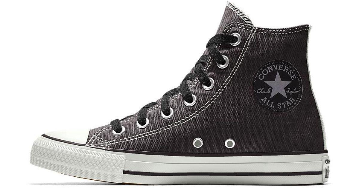 b6aadd4493fe17 Lyst - Converse Custom Chuck Taylor All Star High Top Shoe in Black