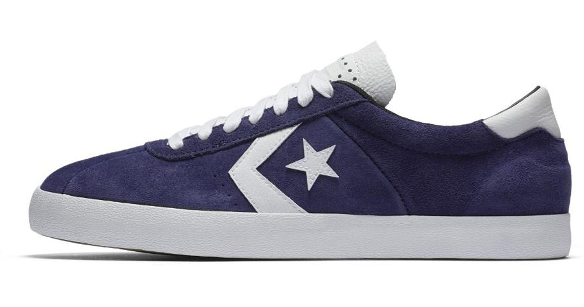 Lyst - Converse Breakpoint Pro Suede With Leather Low Top Men s  Skateboarding Shoe in Purple for Men e0a7e9ce3