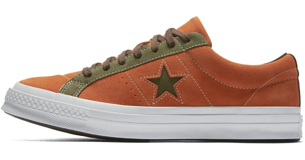 59e1e601d4fc19 Lyst - Converse One Star Carnival Low Top Men s Shoe in Brown for Men