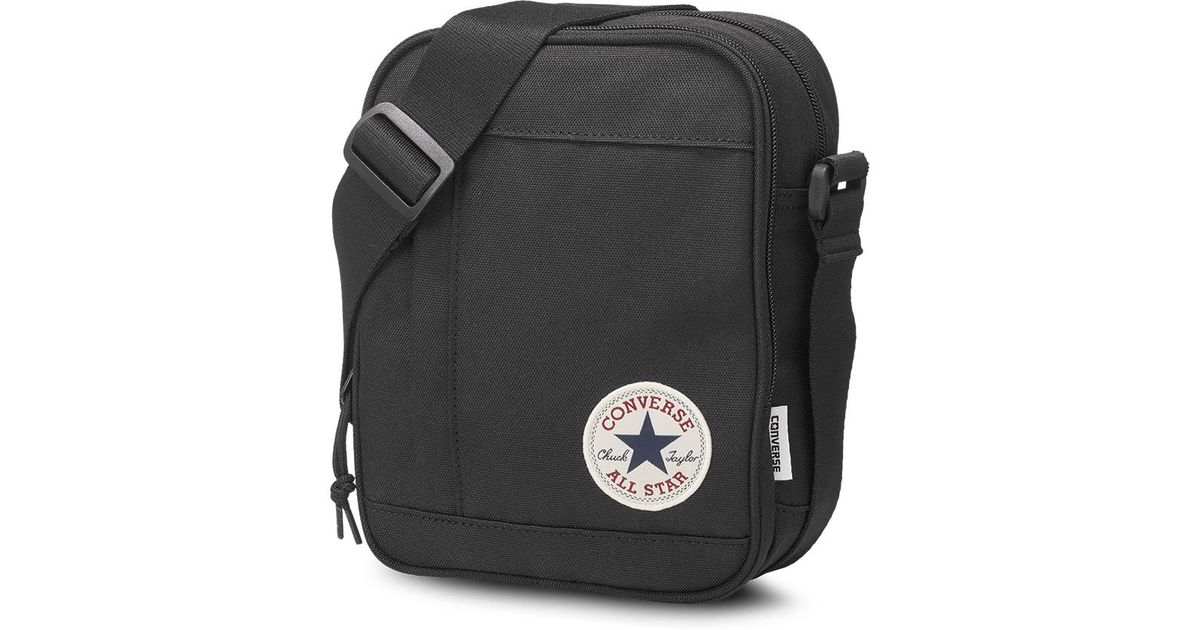 2b6e7259e7 Converse Chuck Taylor All Star Cross Body Bag in Black for Men - Lyst