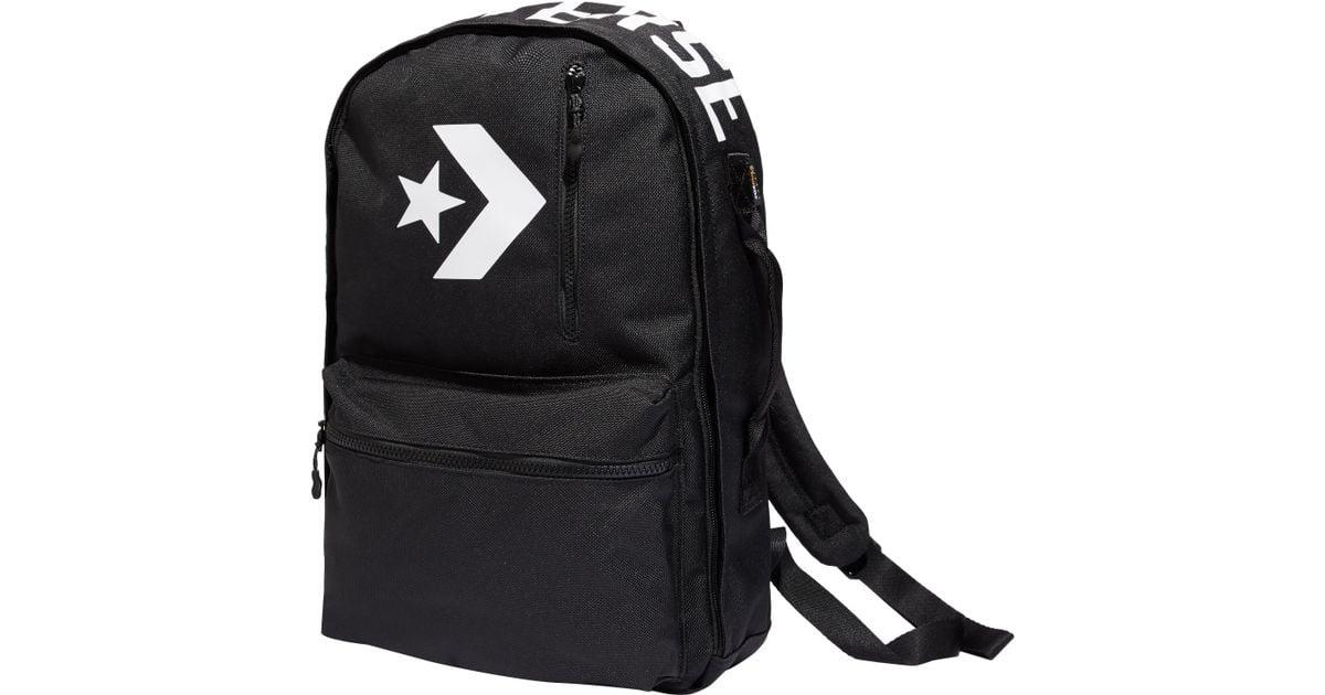 Converse Cordura Street 22 Backpack in Black for Men - Lyst d5bfcbaa4f02e