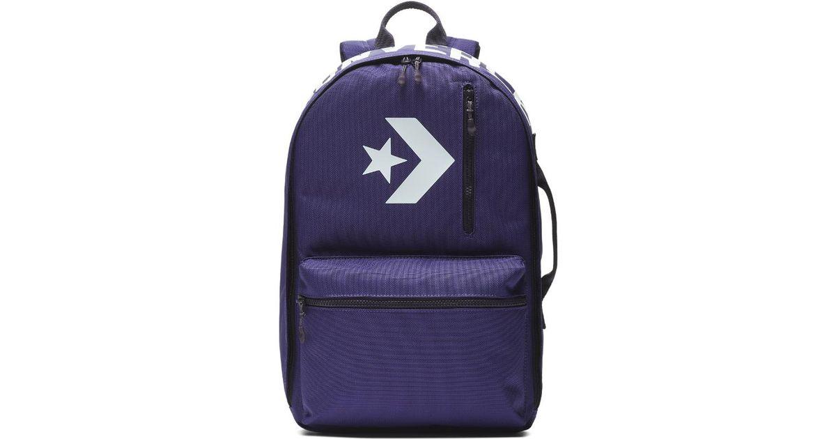 71daad6e84c5 Lyst - Converse Street 22 Backpack (purple) in Purple for Men