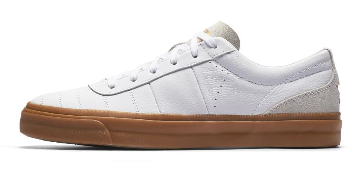 f1bed7d1f17 Lyst - Converse One Star Cc Premium Gum Low Top Shoe in White for Men