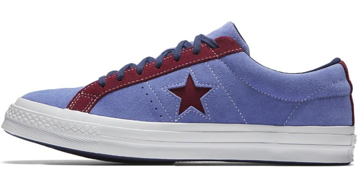 61a12c6d016c75 Lyst - Converse One Star Carnival Low Top Men s Shoe in Blue for Men
