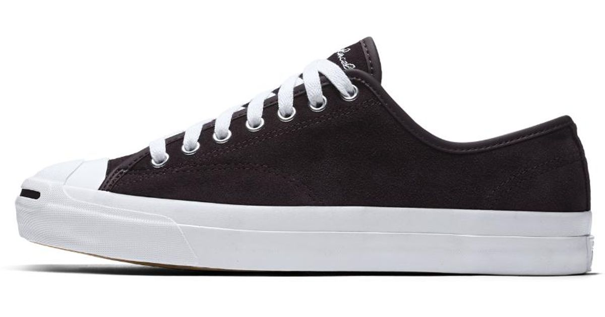 1f2fa2b3125b Lyst - Converse Jack Purcell Pro Low Top Men s Skateboarding Shoe in Red  for Men