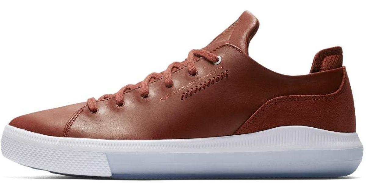 3dacc0a15ed0 Lyst - Converse Nexus X Nike Zoom Air Low Top Men s Shoe in Brown for Men