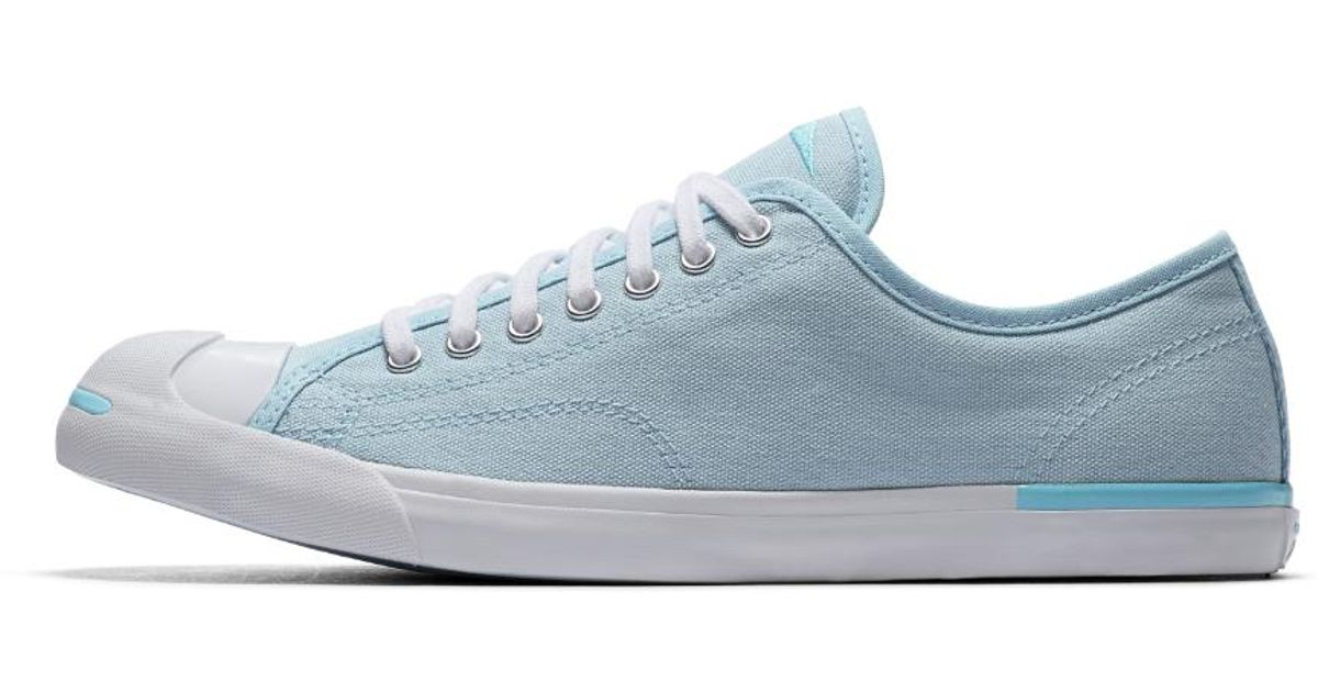 bdf32b92c35 Converse Jack Purcell Low Profile Vintage Canvas Low Top Slip in Blue for  Men - Lyst