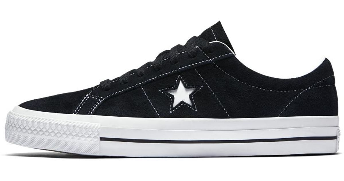 67b7a6c260a0d7 ... official store lyst converse one star pro low top mens skateboarding  shoe in black for men