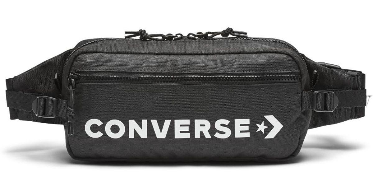 5dbbfa87591e Lyst - Converse Hip Pack (black) in Black for Men