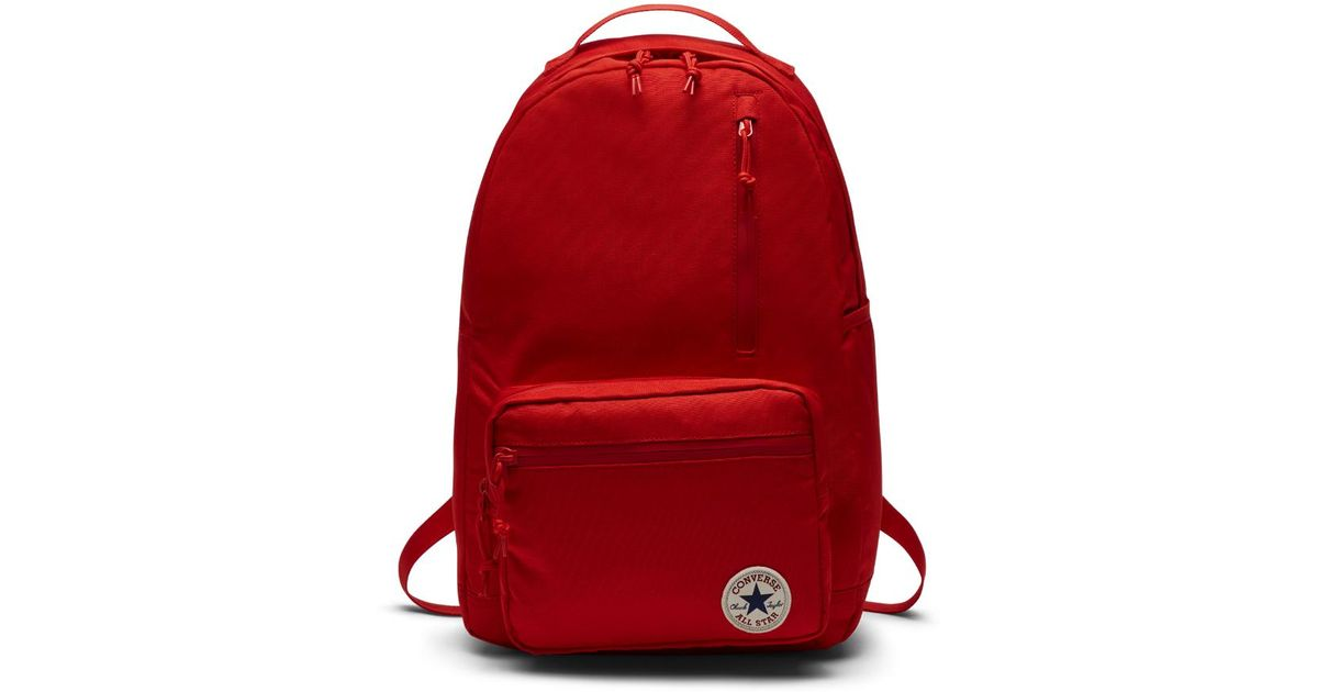 078d28d25ccc Lyst - Converse Poly Go Backpack (red) in Red