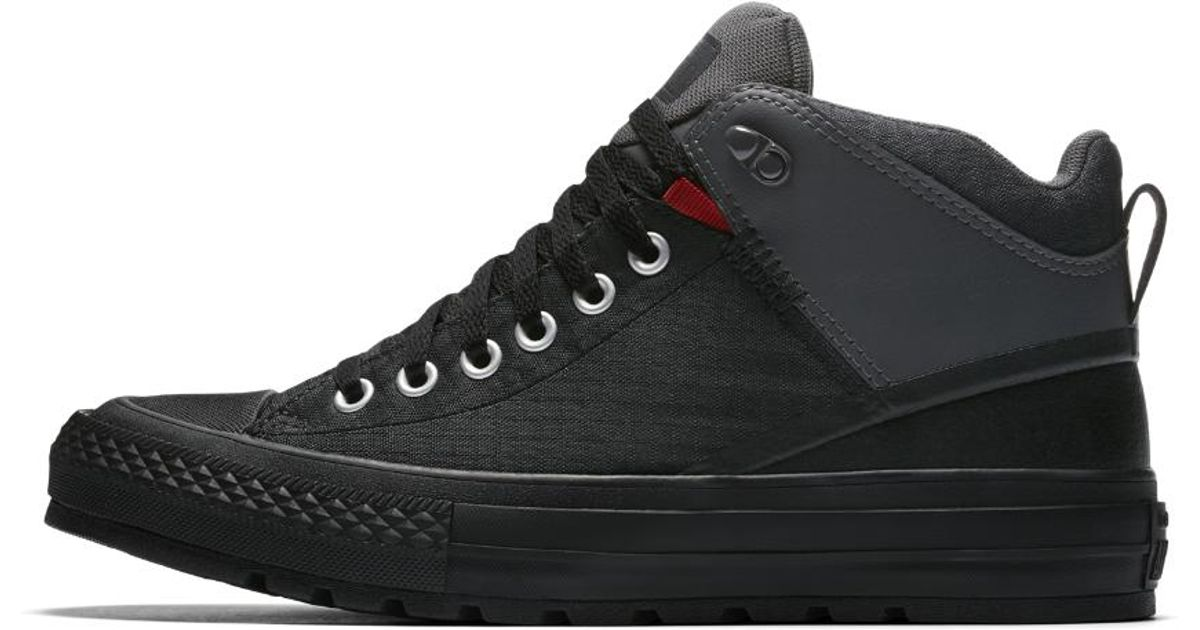 67ffcd94b509 Lyst - Converse Chuck Taylor All Star Street Boot Nylon Men s Boot in Black  for Men