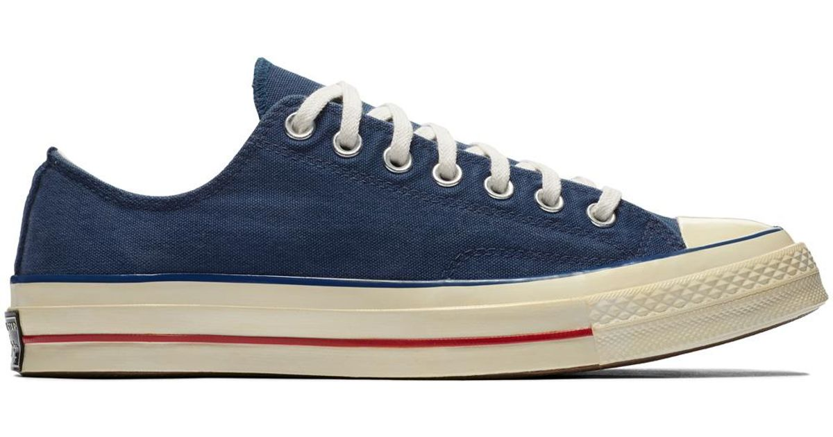 Converse Chuck Taylor All Star  70 Vintage  36 Canvas in Blue for Men - Lyst b1b072fa3