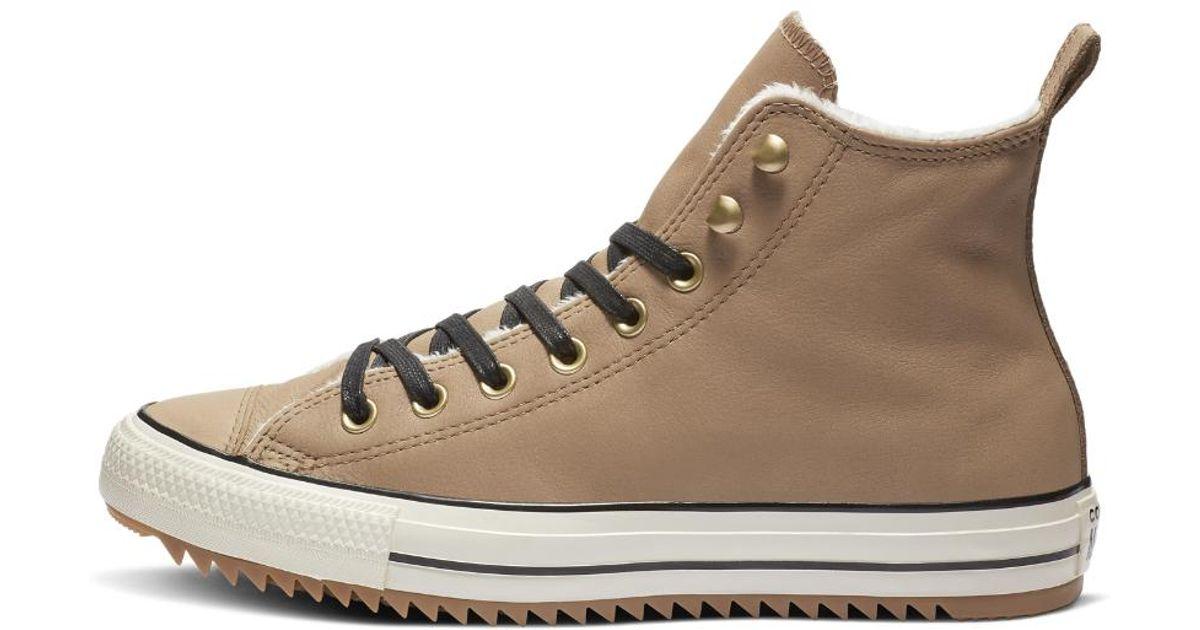 a4418053910e Lyst - Converse Chuck Taylor All Star Street Warmer High Top Women s Boot