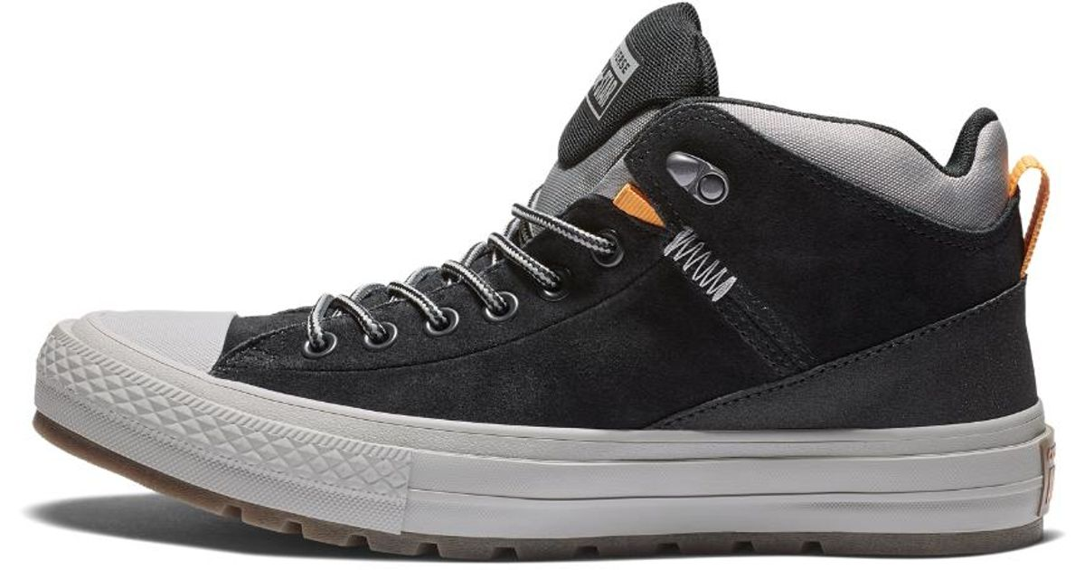 Lyst - Converse Chuck Taylor All-star Urban High Top Sherpa Boot in Black  for Men 28458ea47