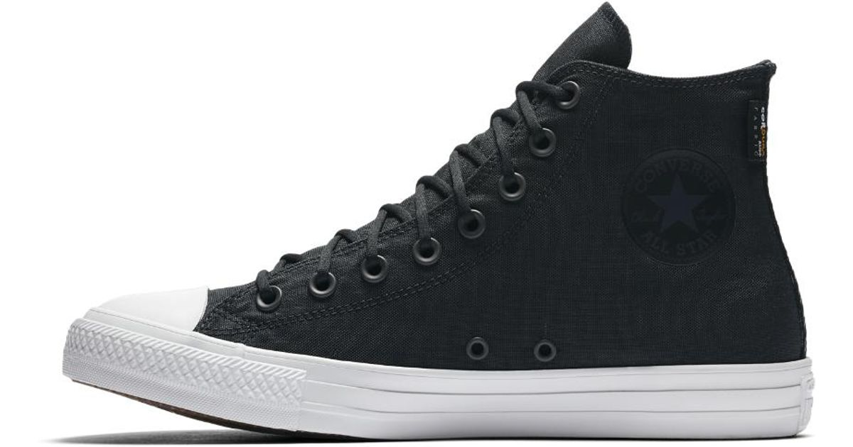 lowest price 8596d 33098 Converse Chuck Taylor All Star Cordura High Top Shoe in Black for Men - Lyst