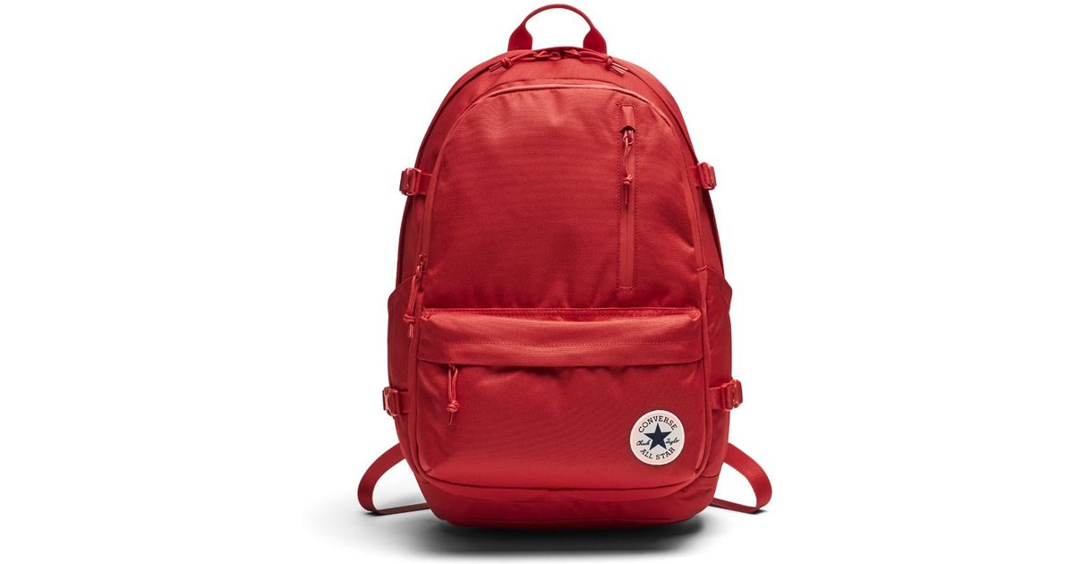 6686e457d91 Lyst - Converse Straight Edge Backpack (red) in Red for Men