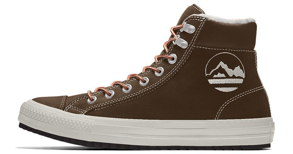 Lyst - Converse Custom Chuck Taylor Winter Boot in Brown for Men d351abb3e