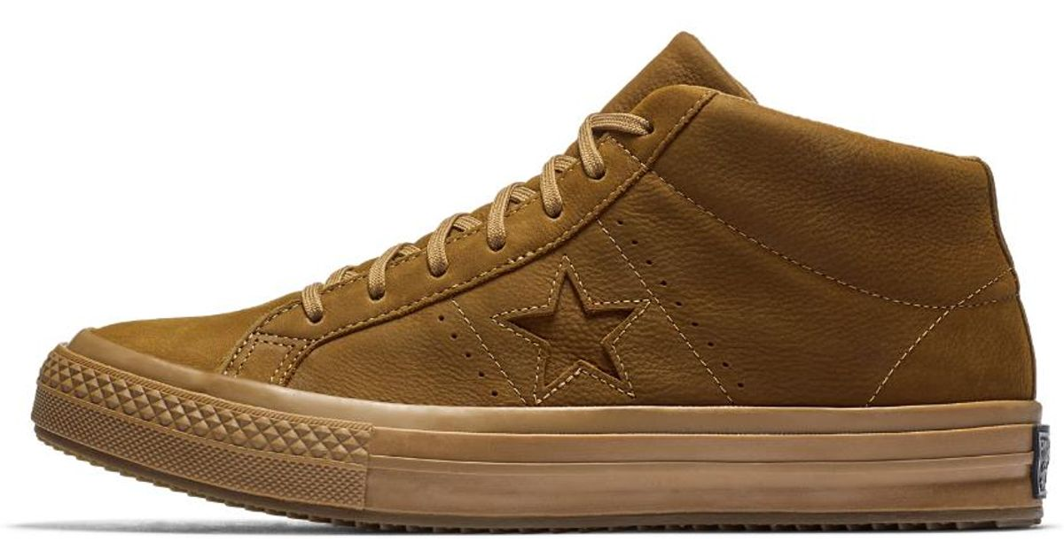 42e93a3f105b64 Lyst - Converse One Star Mid Counter Climate High Top Shoe in Brown for Men