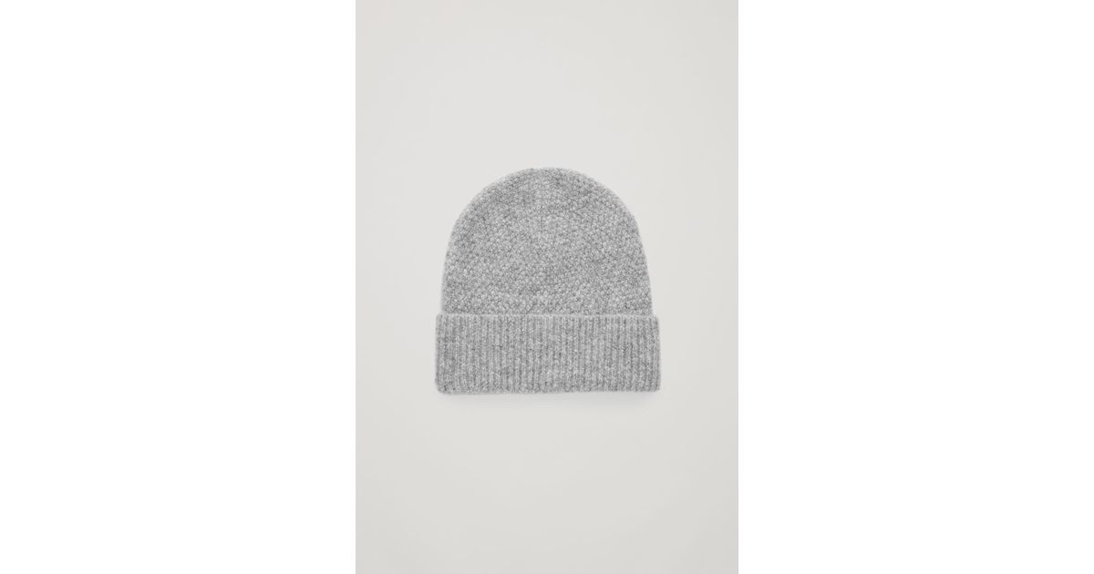 Lyst - COS Alpaca-wool Hat in Gray for Men f9328cf7fd95