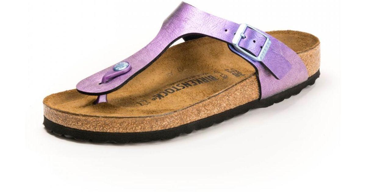 c8b86d8ecfa47 Birkenstock Gizeh Bf Womens Sandals - Lyst