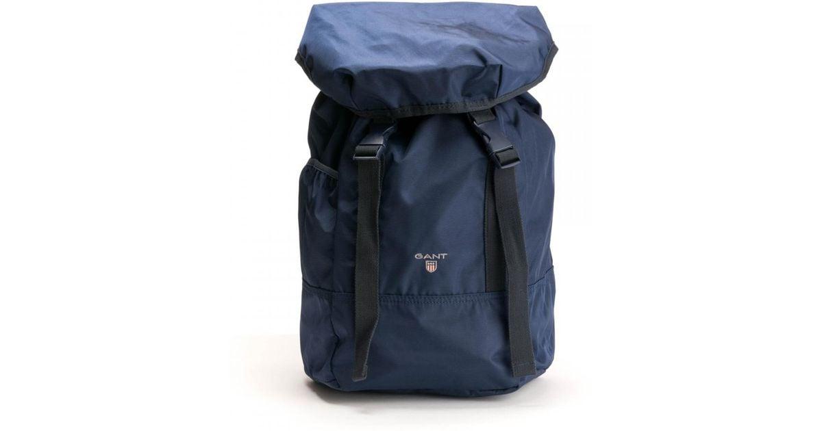 6175a54ee0 GANT Original Mens Backpack in Blue for Men - Lyst