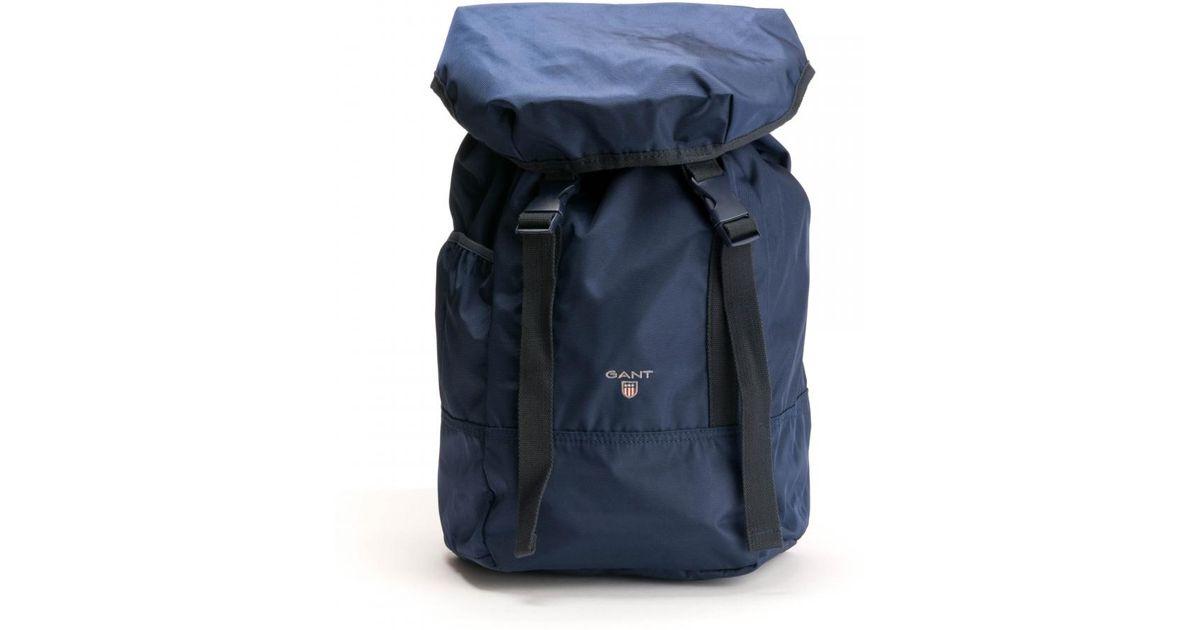 283c7b24b02 GANT Original Mens Backpack in Blue for Men - Lyst