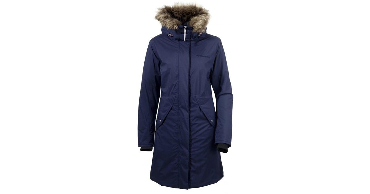 448a950fd90 Didriksons - Blue Vibrant Ladies Jacket - Lyst
