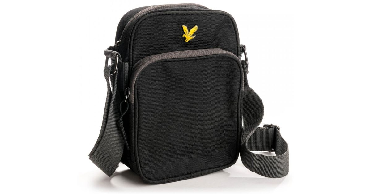 Lyst - Lyle   Scott Colour Pop Small Items Bag in Black for Men ad189aed69