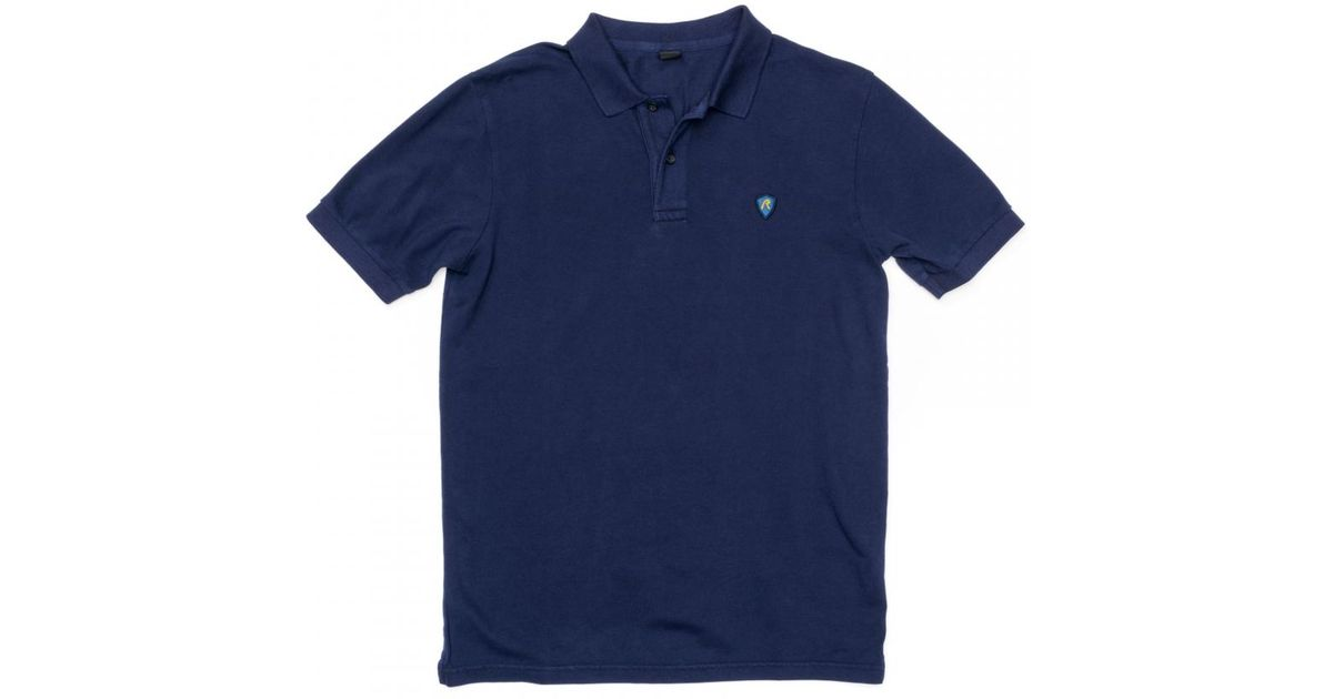 70fe5656b5e3 Lyst - Replay Garment-dyed Pique Mens Polo Shirt M3352 .000. in Purple for  Men