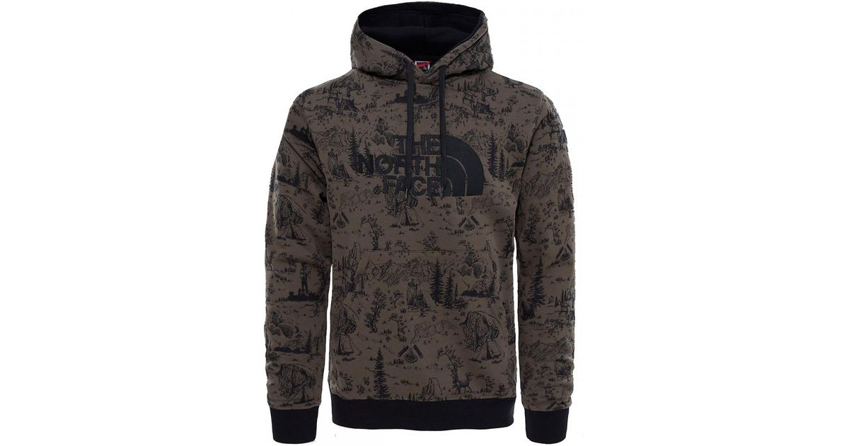 01bff090a5 The North Face Drew Peak Mens Pullover Hoodie in Black for Men - Lyst