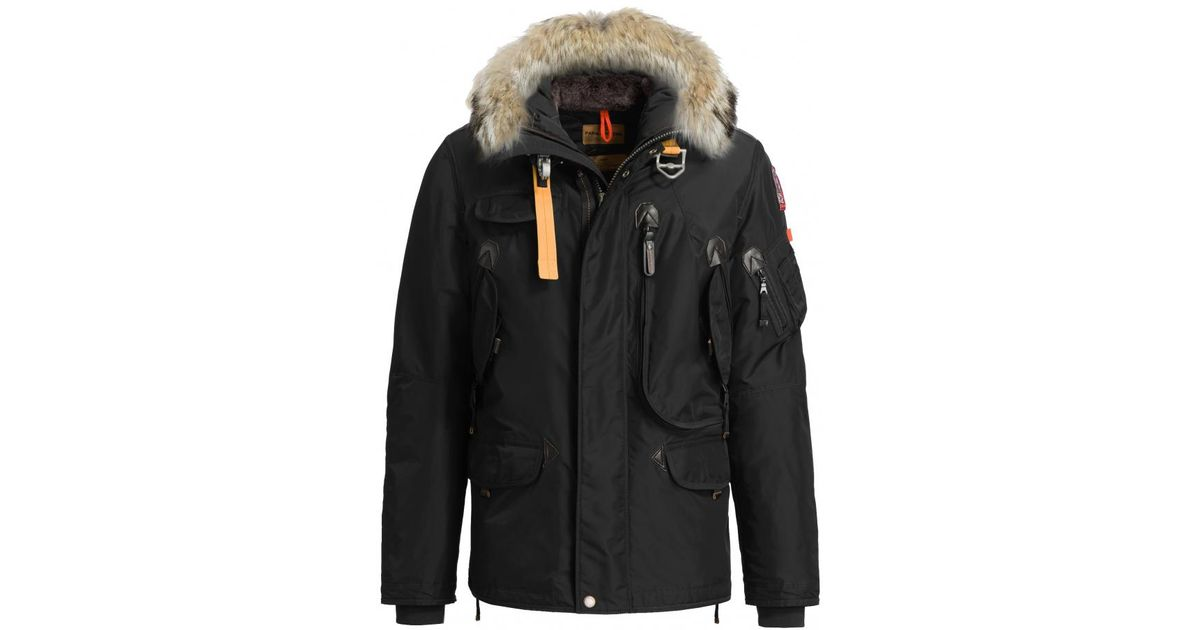 015615c056f6 Lyst - Parajumpers Kodiak Mens Parka in Black for Men - Save 48%