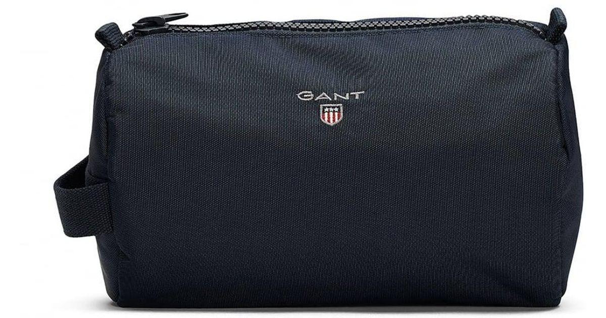 10b1aa3c7ba Lyst - GANT Original Mens Wash Bag in Blue for Men