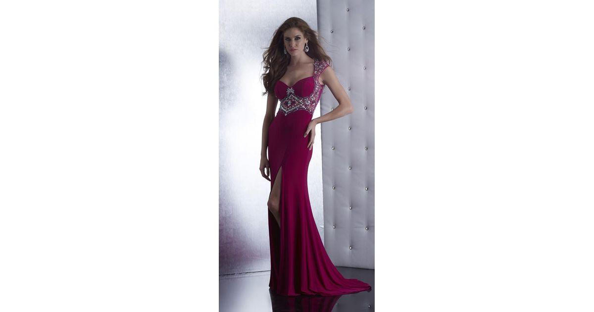 Lyst - Jasz Couture Dress In Dark Fuschia in Pink