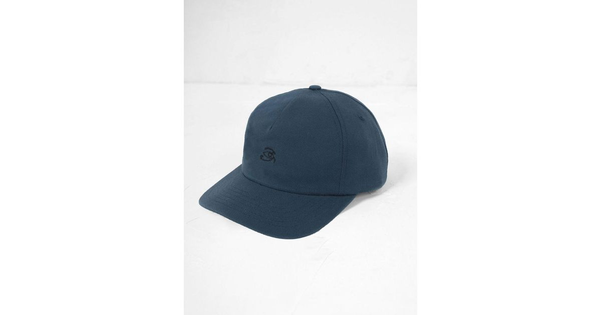 Lyst - Mollusk Eye Of Horus Cap in Blue for Men 625cbf365182