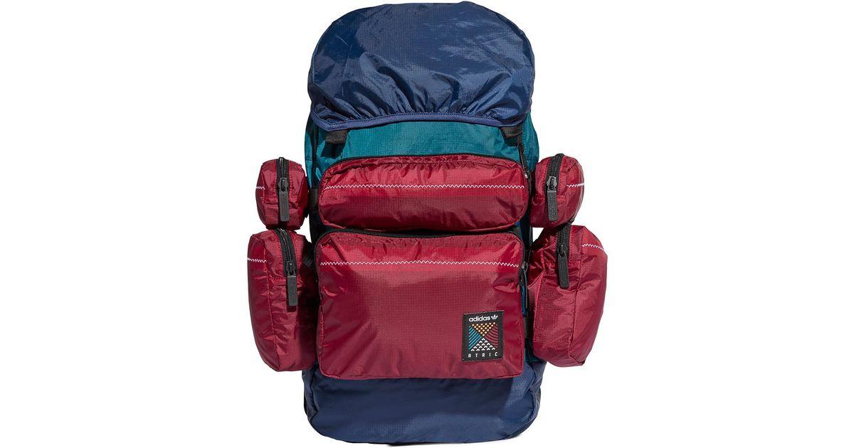 0e83734613 Lyst - adidas Originals Atric Backpack Large Noble Indigo in Blue for Men