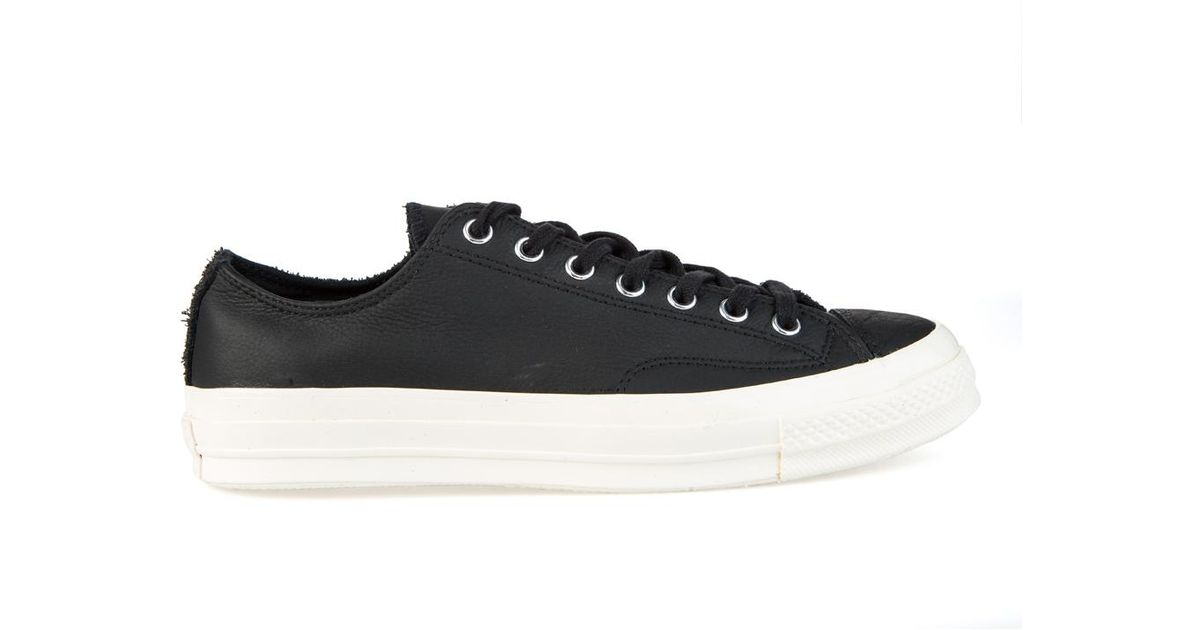 f15f8431385d Converse Ctas  70 Ox Black black Leather in Black for Men - Lyst
