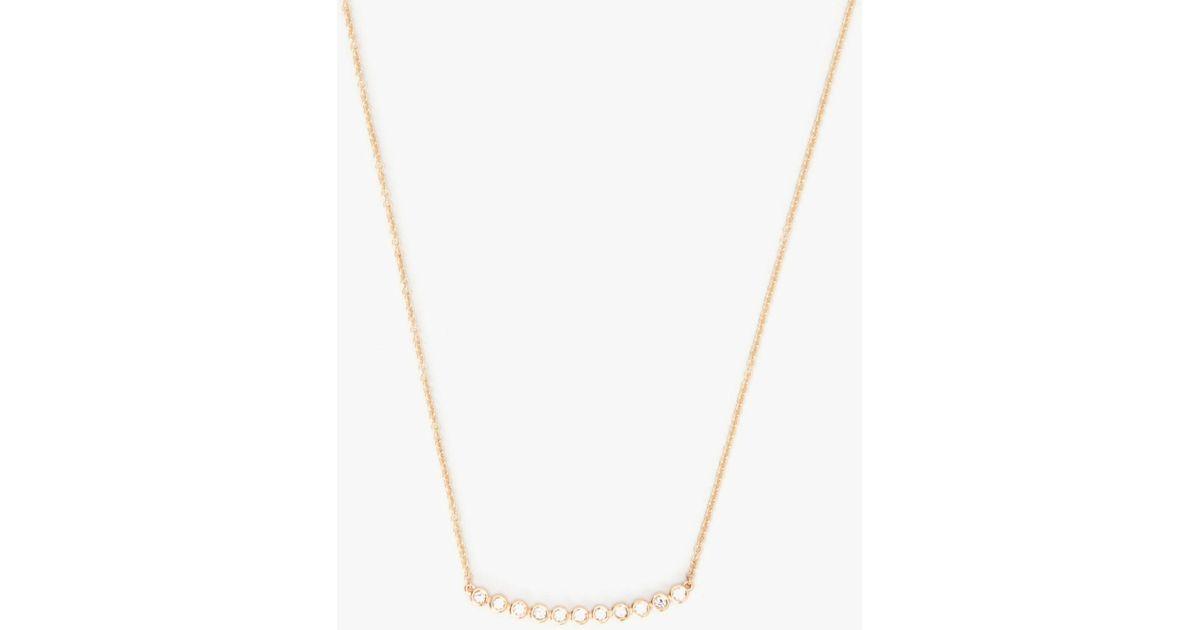Sydney Evan 11 Diamonds Bezel Necklace GK1ITfJ