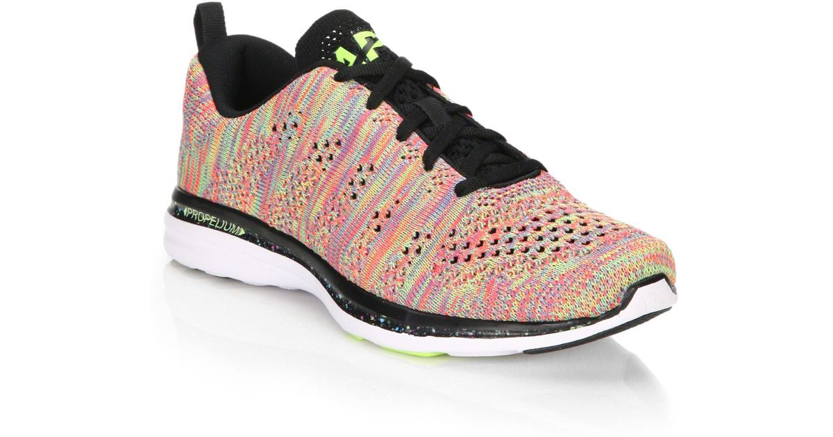 athletic propulsion labs techloom pro knit sneakers in