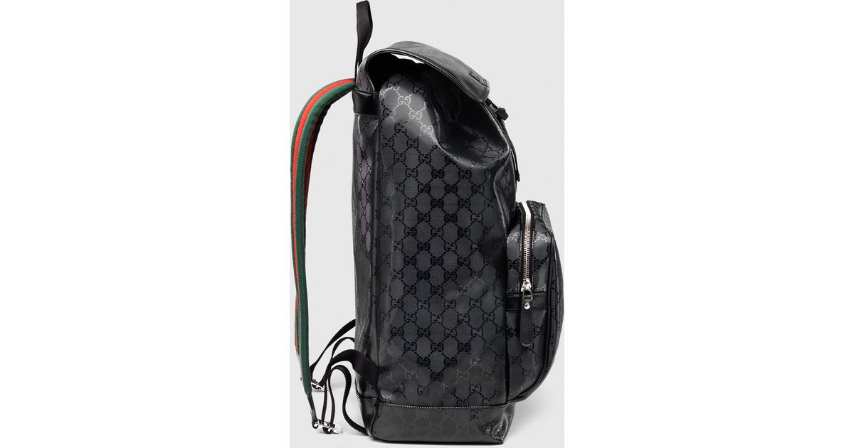 Lyst - Gucci 500 By Gg Imprimé Backpack in Black 6134699dc1