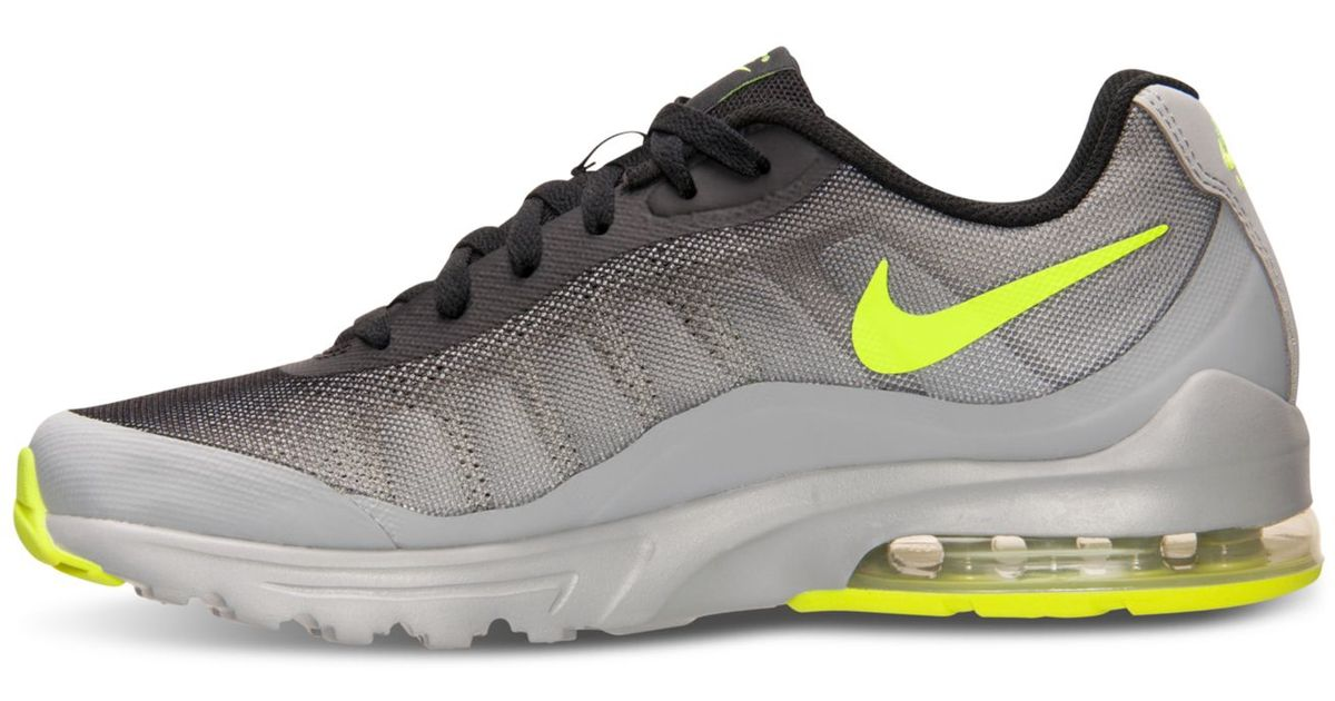 half off 35d70 09976 Lyst - Nike Men s Air Max Invigor Print Running Sneakers From Finish Line in  Gray for Men