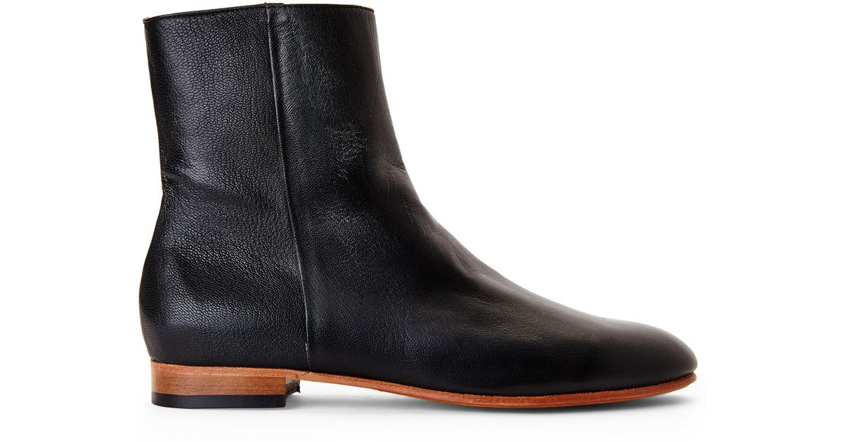 df484da7753 Lyst - Dieppa Restrepo Black Ankle Boots in Black
