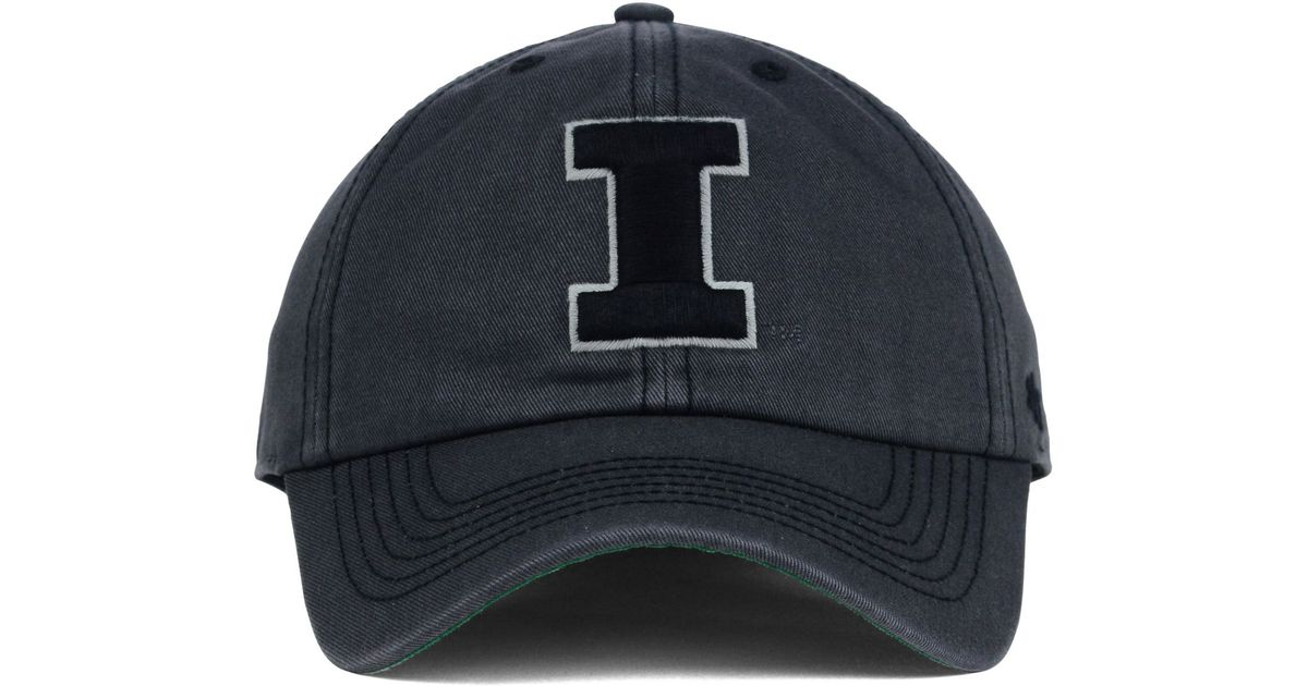 b521835e05802 ... where to buy lyst 47 brand illinois fighting illini sachem cap in gray  for men bb391
