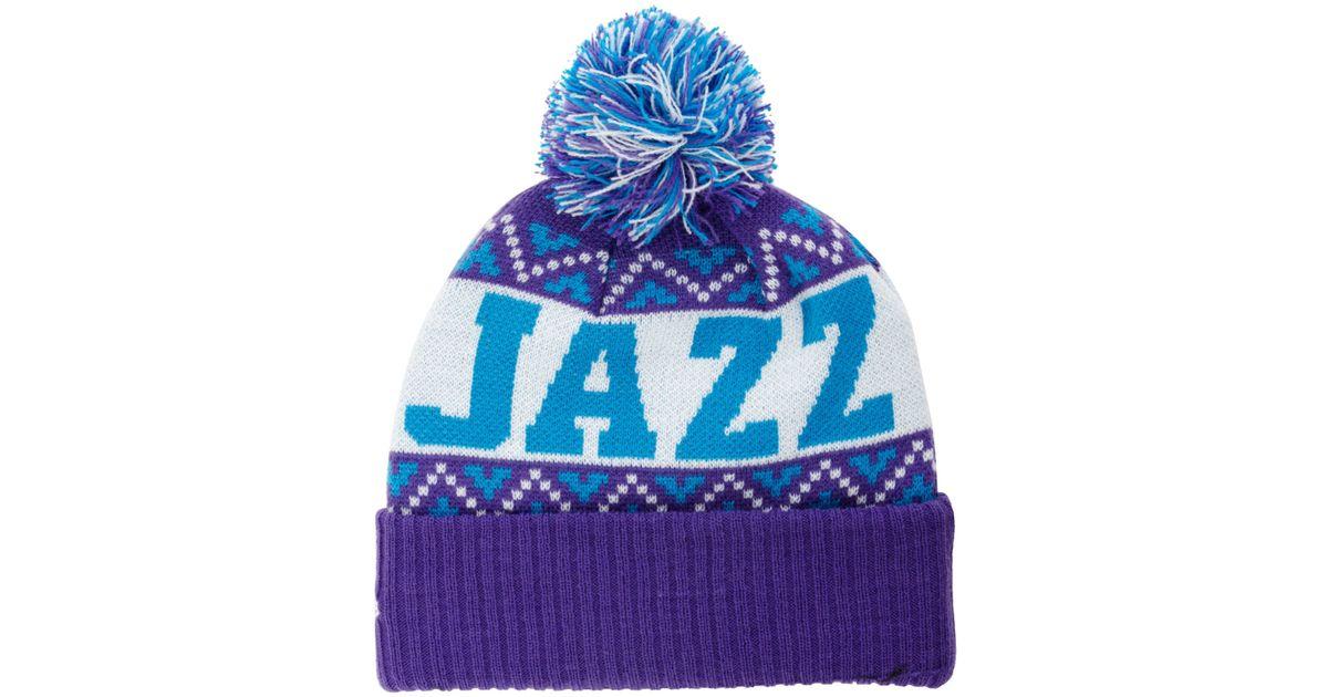 Lyst - KTZ Utah Jazz Biggest Christmas Knit Hat in Purple for Men 18e131aa57d